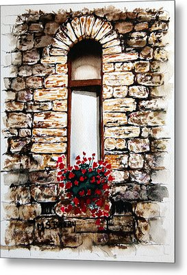 Under The Tuscan Sun Metal Print by Maria Barry
