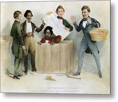 Underground Railroad, 1850 Metal Print by Granger