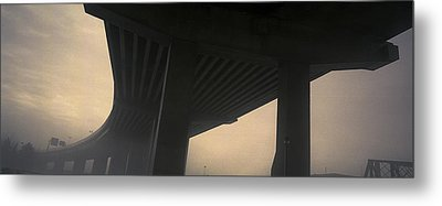 Underneath Decaying Decarie Autoroute Metal Print by Roderick Chen