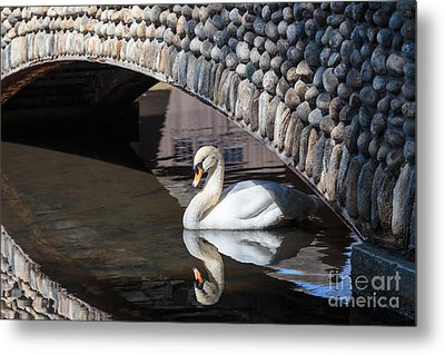 Underneath The Arch Metal Print by Mary Lou Chmura