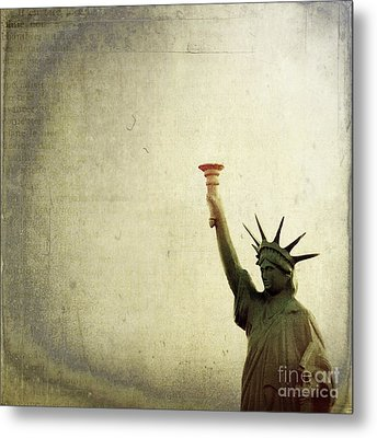 Understanding Liberty Metal Print by Trish Mistric