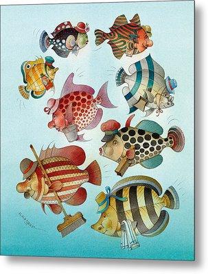 Underwater Story 01 Metal Print by Kestutis Kasparavicius