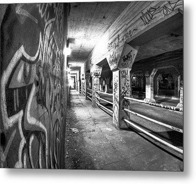 Underworld - The Krog Street Tunnel Metal Print by Mark E Tisdale