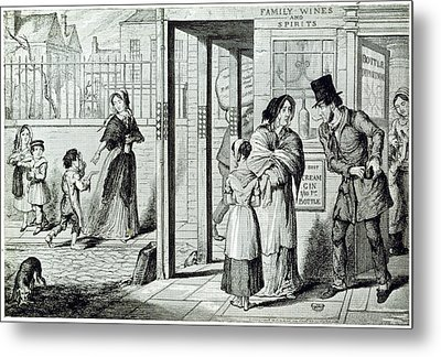 Unemployed Metal Print by British Library
