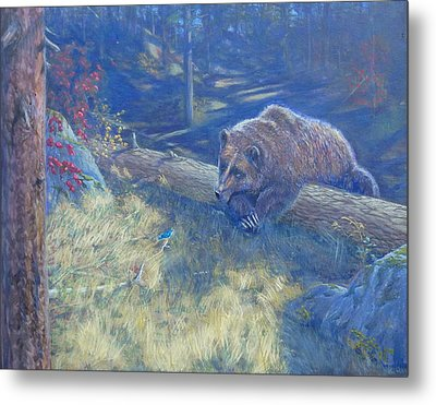 Unexpected Friends Metal Print by Charles Smith