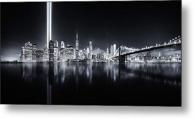 Unforgettable 9-11 Metal Print by Javier De La