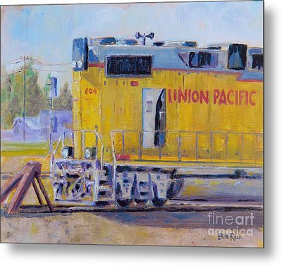 Union Pacific #604 Metal Print