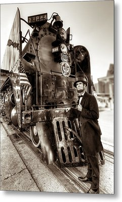 Metal Print featuring the photograph Union Pacific 844 by Tim Stanley