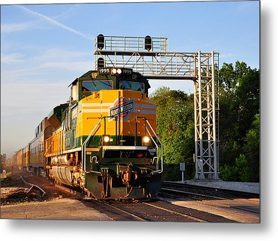 Union Pacific Chicago And North Western Heritage Unit Metal Print