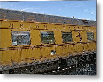 Union Pacific Metal Print by Peggy Hughes