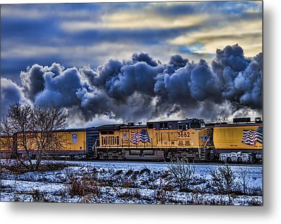 Union Pacific Train Metal Print