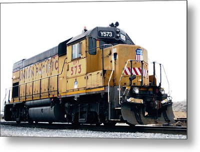 Union Pacific Yard Master Metal Print by Steven Milner