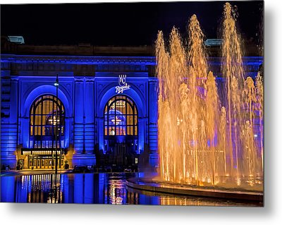 Union Station Celebrates The Royals Metal Print