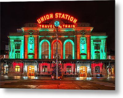 Union Station  Metal Print by Darren  White