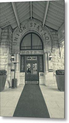 Union Station Entrance Metal Print