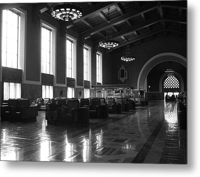 Union Station Los Angeles Metal Print