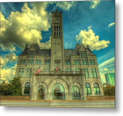Union Station Nashville Metal Print by  Caleb McGinn