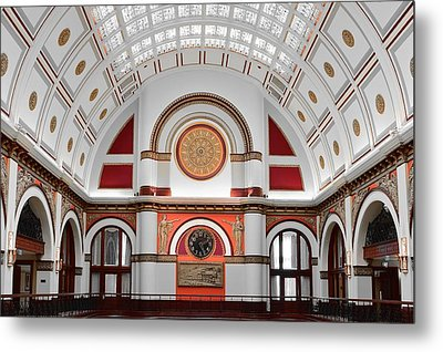 Union Station Nashville Tennessee Metal Print by Frozen in Time Fine Art Photography