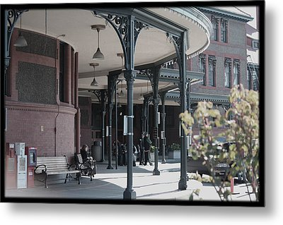 Union Street Station Metal Print by Patricia Babbitt