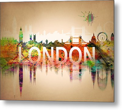 United Kingdom Metal Print by Mark Ashkenazi