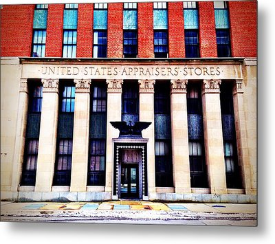 United States Appraisers' Stores Metal Print