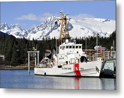 United States Coast Guard Cutter Liberty Metal Print by Cathy Mahnke