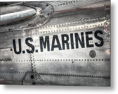 United States Marines - Beech C-45h Expeditor Metal Print