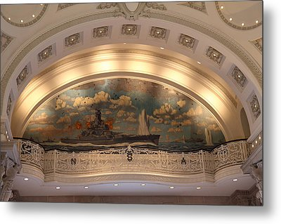 United States Naval Academy In Annapolis Md - 121216 Metal Print by DC Photographer