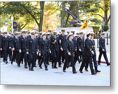 United States Naval Academy In Annapolis Md - 121241 Metal Print