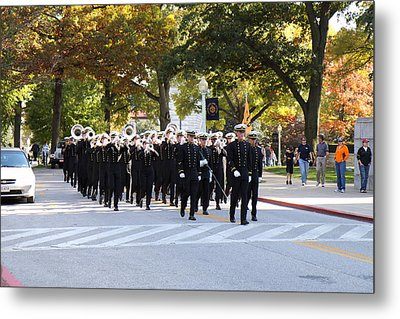 United States Naval Academy In Annapolis Md - 121243 Metal Print by DC Photographer