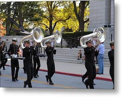United States Naval Academy In Annapolis Md - 121246 Metal Print by DC Photographer