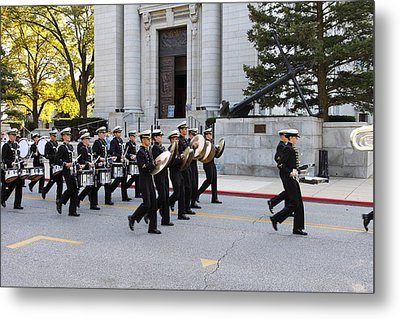 United States Naval Academy In Annapolis Md - 121248 Metal Print by DC Photographer
