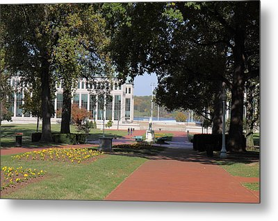 United States Naval Academy In Annapolis Md - 121250 Metal Print by DC Photographer