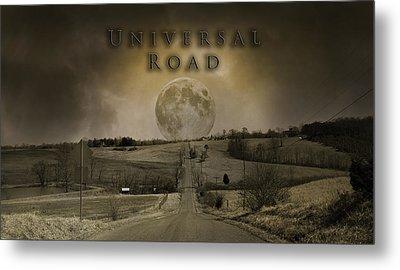 Universal Road Metal Print by Betsy Knapp