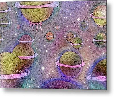 Universe Metal Print by Yoyo Zhao