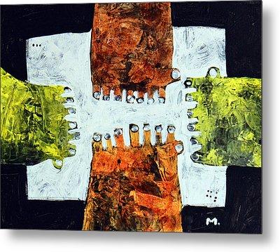 Universi No. 10  Metal Print by Mark M  Mellon