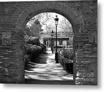 University Garden Metal Print by Cendrine Marrouat