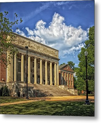 University Of Alabama Library Metal Print