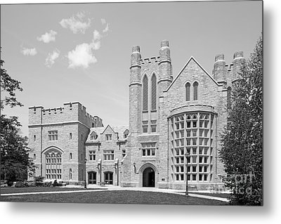 University Of Connecticut School Of Law Meskill Law Library Metal Print by University Icons