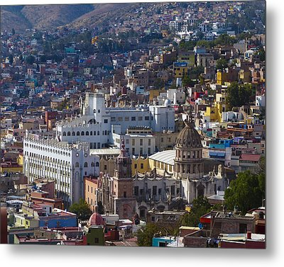University Of Guanajuato Metal Print by Douglas J Fisher
