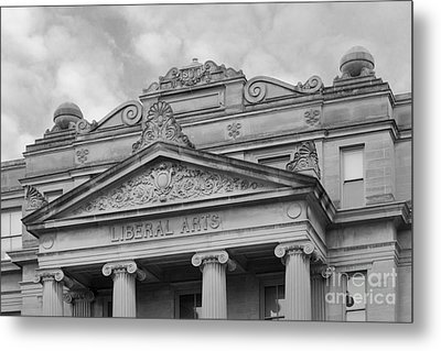 University Of Iowa Schaeffer Hall Metal Print by University Icons