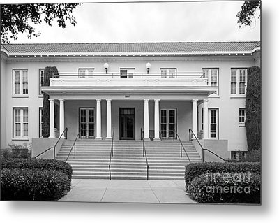 University Of La Verne Miller Hall Metal Print by University Icons