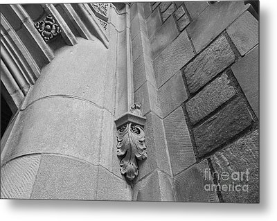 University Of Michigan Law Library Detail Metal Print