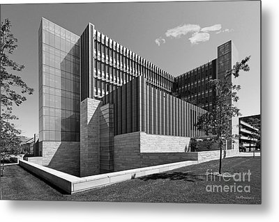 University Of Michigan Ross School Of Business Metal Print by University Icons