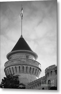 University Of Minnesota Armory  Metal Print by University Icons