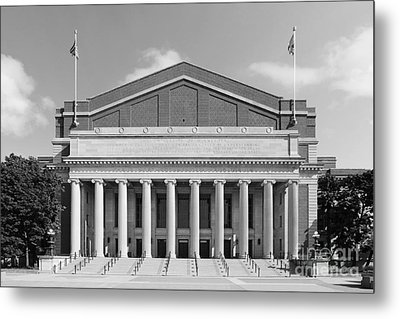 University Of Minnesota Northrop Auditorium Metal Print by University Icons