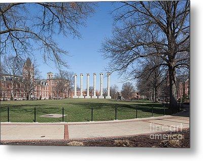 University Of Missouri Quad Metal Print by Kay Pickens