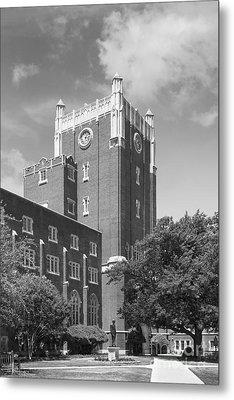 University Of Oklahoma Union Metal Print by University Icons