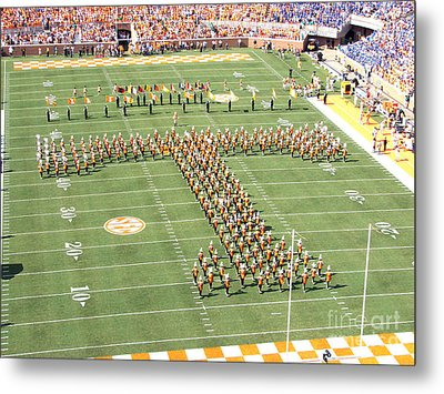 University Of Tennessee Band T  Metal Print