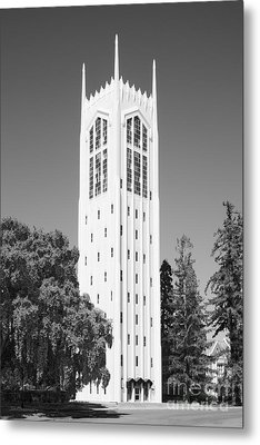 University Of The Pacific Burns Tower Metal Print by University Icons